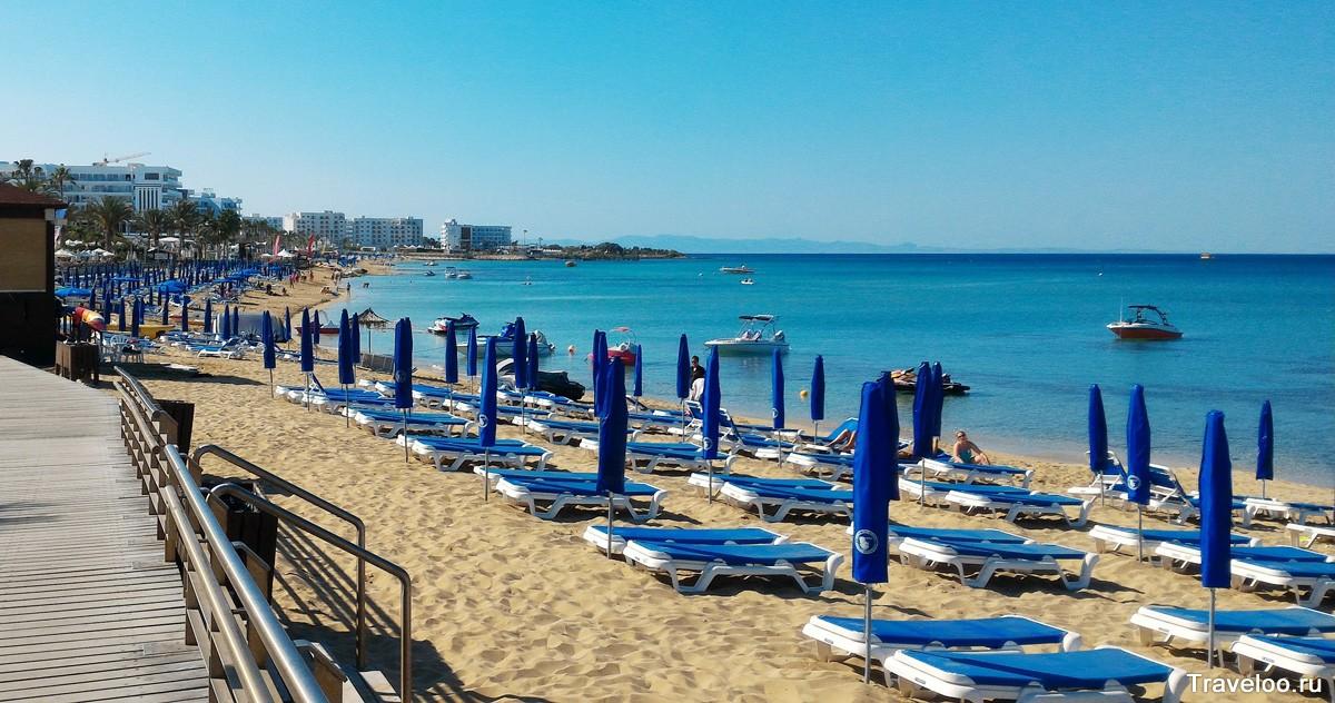 пляж Протараса Санрайз