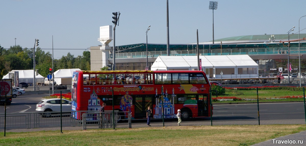 туристический автобус в Казани