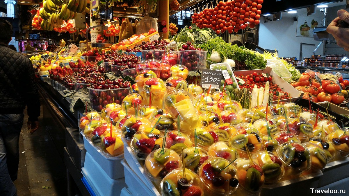 рынок Бакерия в Барселоне